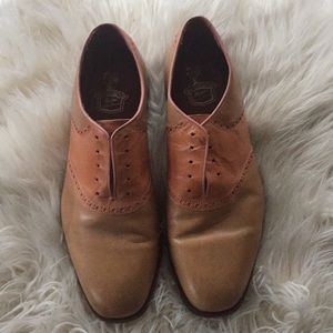 Florsheim by Duckie Brown saddleshoes, 11.5 D